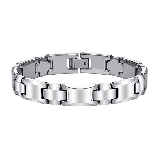 Men's Polished Tungsten Bracelet