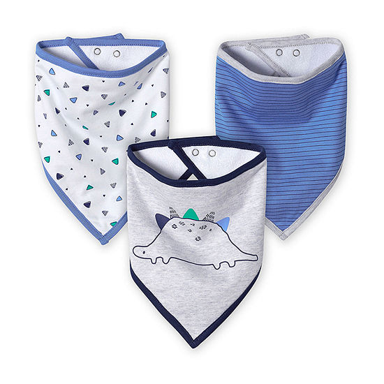 Just Born Boys 3-pc. Bib