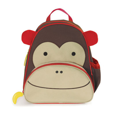 Skip Hop Monkey Zoo Activity Unisex Animal Backpack