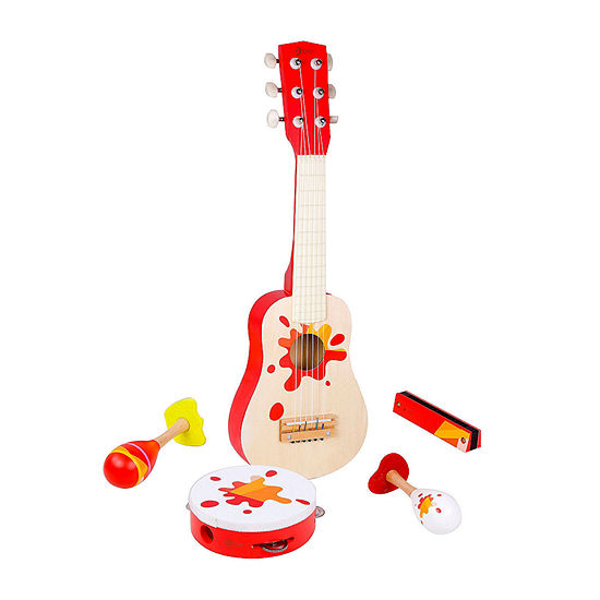 Classic Toy Wooden Toddler Star Music 5 Piece Set