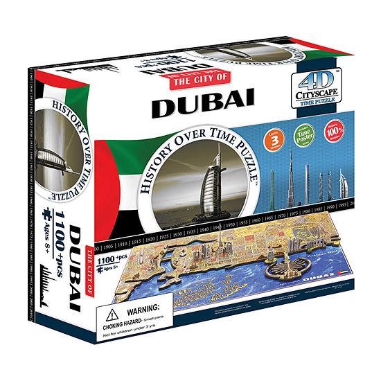 4d Cityscape 4d Cityscape Time Puzzle - Dubai  Uae