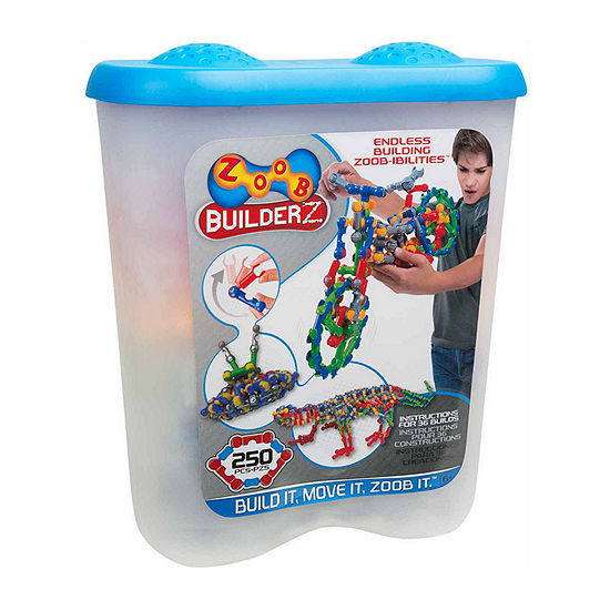 Zoob 250 Piece Builderz Interactive Toy - Unisex
