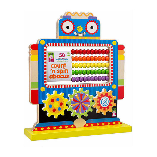 ALEX TOYS Alex Jr Count N Spin Abacus Robot Interactive Toy - Unisex