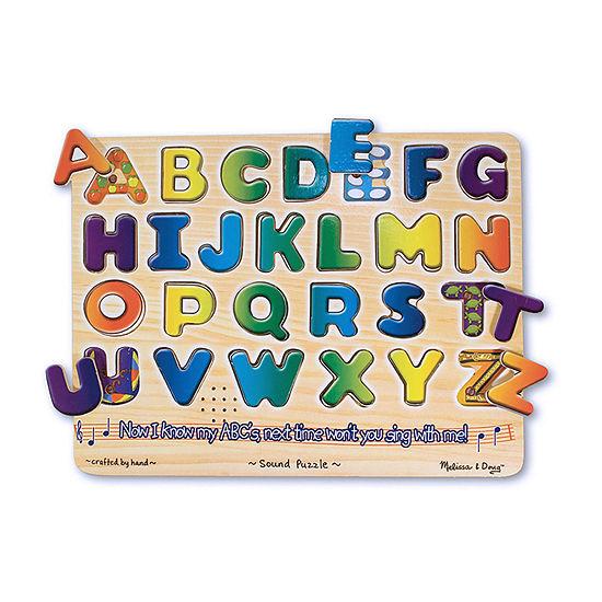 Melissa & Doug Alphabet Sound Puzzle