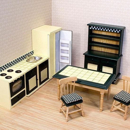 Melissa & Doug Kitchen Set Dollhouse Furniture