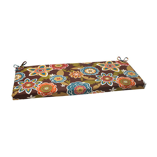 "Pillow Perfect 45"" Outdoor Annie Bench Cushion"""