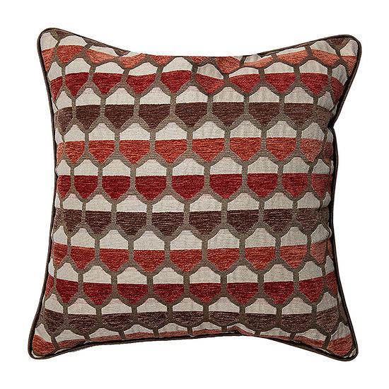 Spencer Honeycomb Square Throw Pillow
