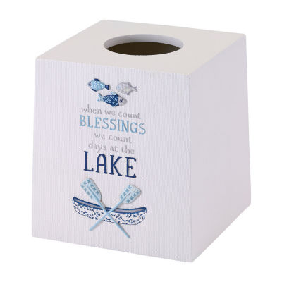 Avanti Lake Life Tissue Box Cover