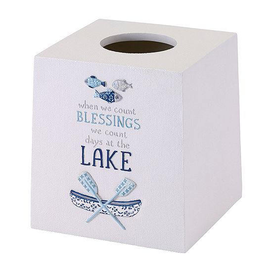 Avanti Lake Life Tissue Box Cover