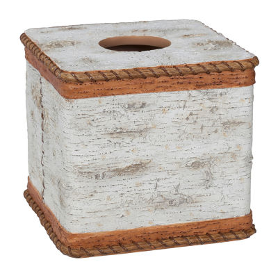 Hautman Brothers White Birch Tissue Box Cover
