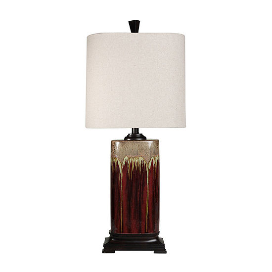 Stylecraft Tandoori Spice Ceramic Table Lamp