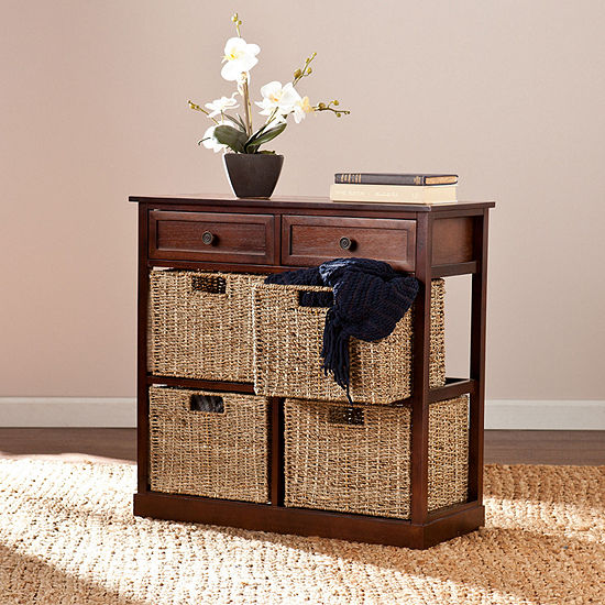 Southlake Furniture 4-Basket Storage Chest