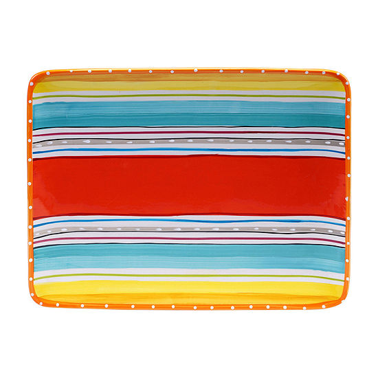 Certified International Mariachi Rectangular Platter