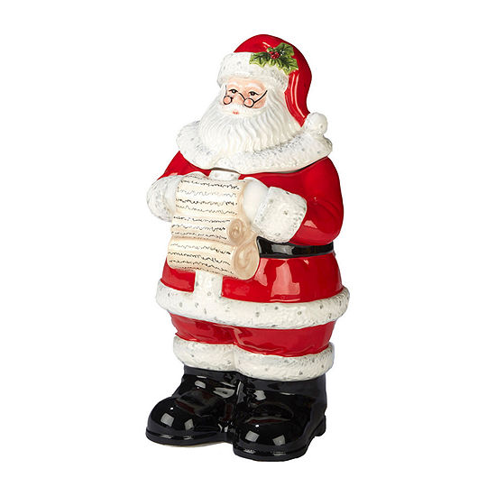 Certified International Holiday Wishes Cookie Jar