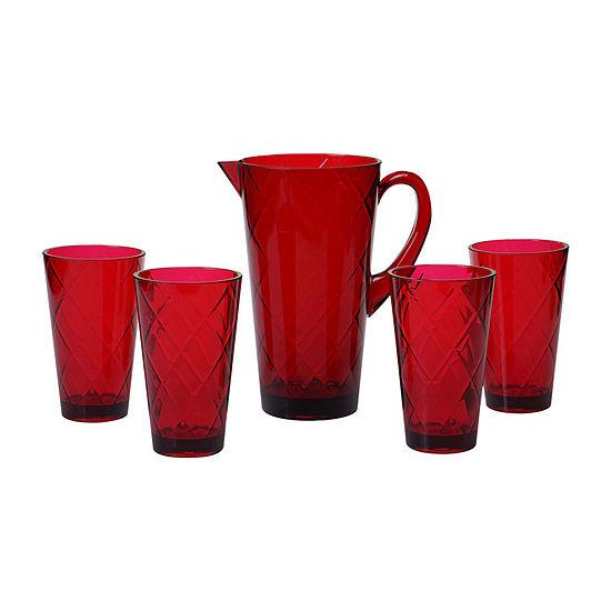Certified International 5-pc. Acrylic Drinkware Set