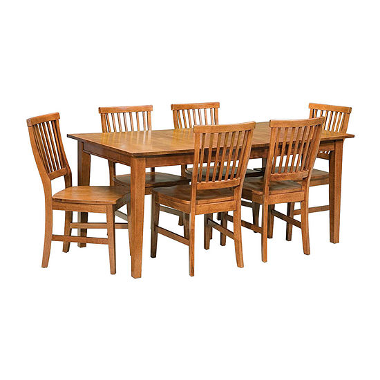 Arts and Crafts 7-Piece Dining Set