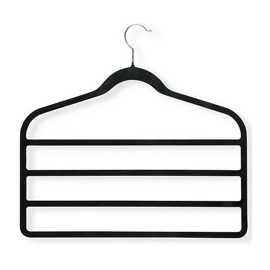Honey-Can-Do® 4-Pack Velvet Touch 4-Tier Hangers