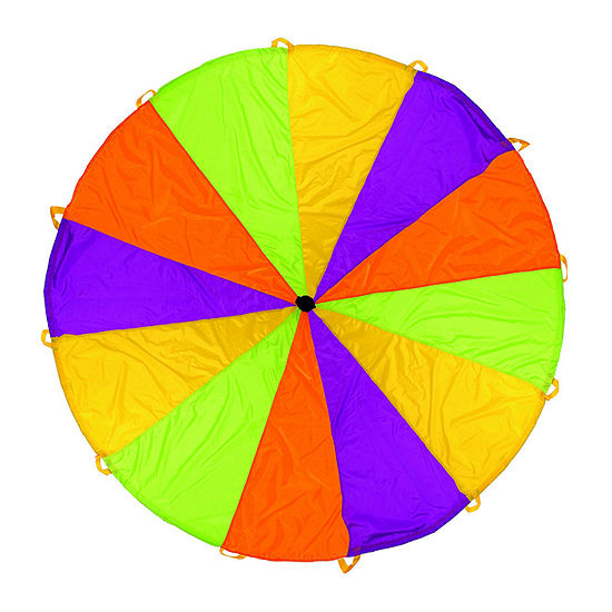 Pacific Play Tents Playchute Parachute - 10Ft- Rainbow