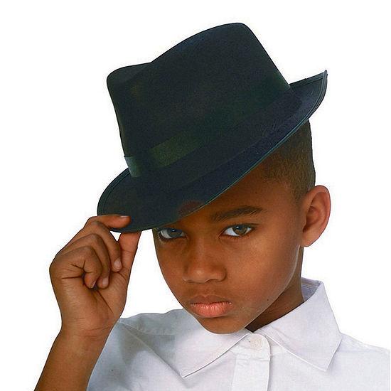 Black Durashape Fedora Child Hat