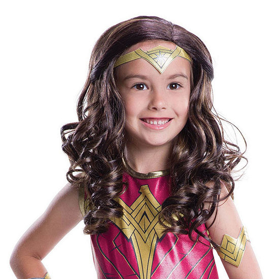 Wonder Woman Child Wig- One Size Fits Most
