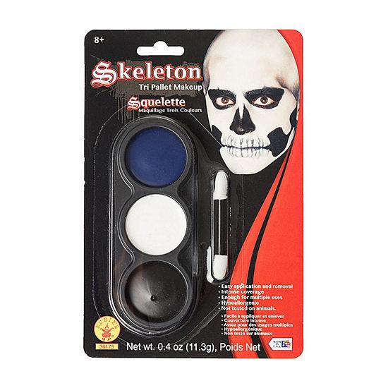 Tri Color Pallettes Skeleton Makeup Kit
