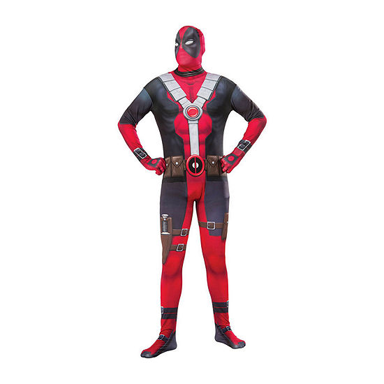 Deadpool 2nd Skin Adult Dress Up Costume 2-pc. Deadpool Dress Up Costume