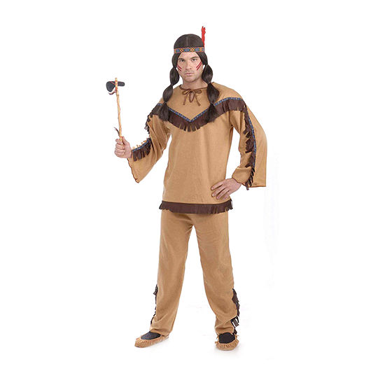Mens Native American Brave Costume Costume