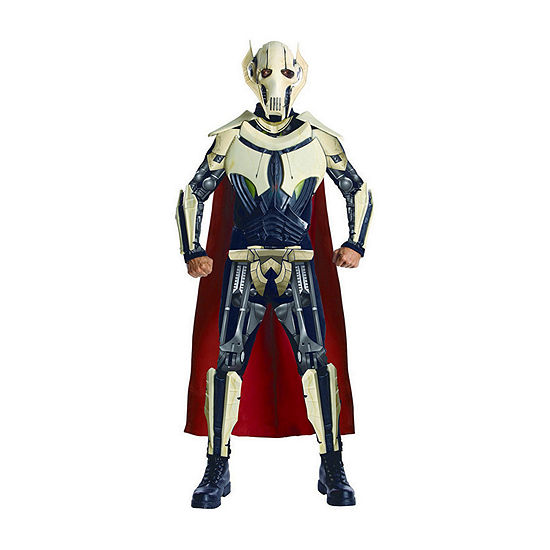 Star Wars: Mens Deluxe General Grievous Adult Costume One Size Fits Most