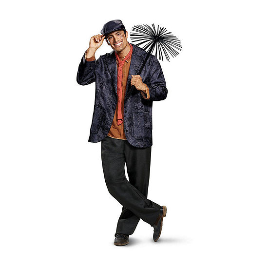 Mary Poppins Bert Deluxe Adult Dress Up Costume 5-pc. Dress Up Costume