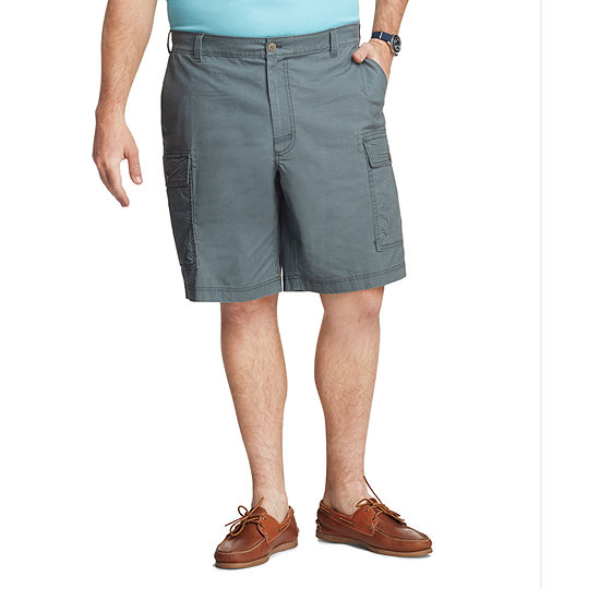 IZOD Saltwater Mens Stretch Cargo Short Big and Tall