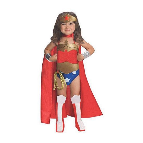 Justice League Wonder Woman Toddler (3t-4t) Girls Costume