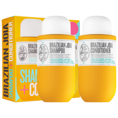 SOL DE JANEIRO Brazilian Joia Strengthening + Smoothing Shampoo + Conditioner Set