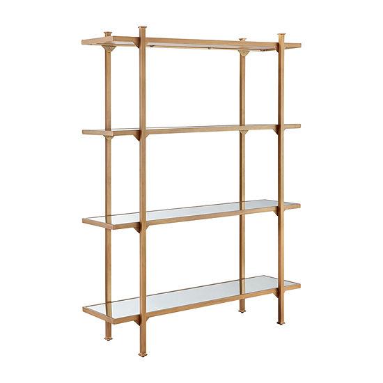 Madison Park Huntington 4-Shelf Bookcase
