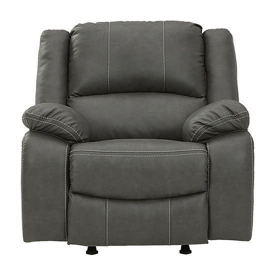 Signature Design by Ashley Calon Living Room Collection Pad-Arm Recliner