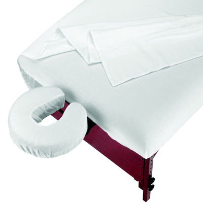 Master® Massage 3-pc. Flannel Massage Table Sheet Set