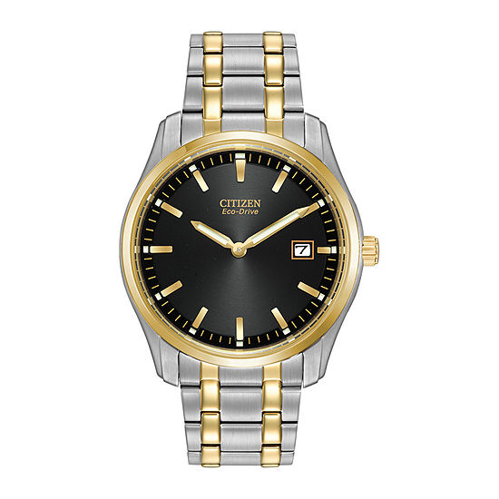 Citizen Corso Mens Two Tone Bracelet Watch-Au1044-58e