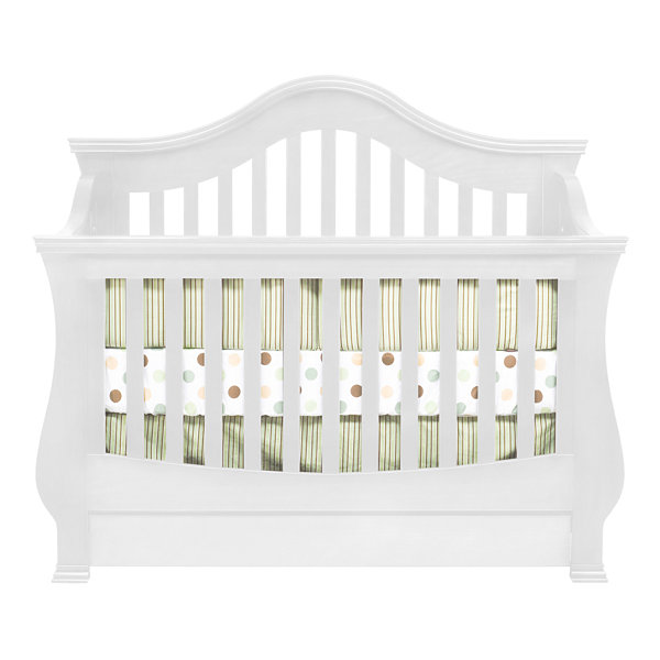 DaVinci Ashbury 4-in-1 Convertible Crib - White