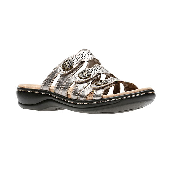 Clarks Womens Leisa Grace Slide Sandals