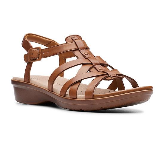 Clarks Womens Loomis Katey Strap Sandals