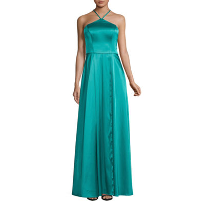 My Michelle Sleeveless Evening Gown-Juniors