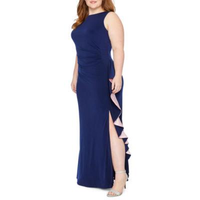 Blu Sage Sleeveless Party Dress - Plus