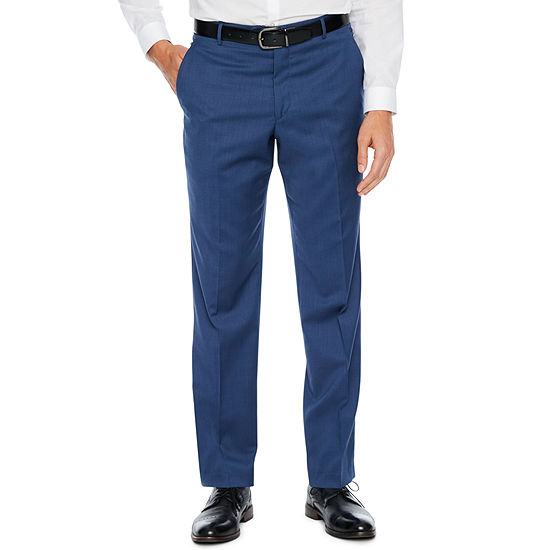 Stafford Classic Fit Stretch Suit Pants