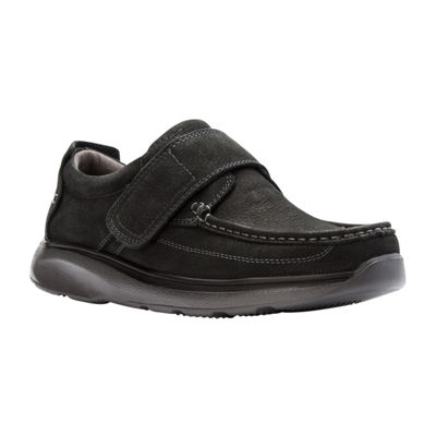 Propet Mens Otto Hook and Loop Round Toe Loafers