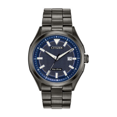 Drive from Citizen Eco-Drive Mens Black Bracelet Watch-Aw1147-52l