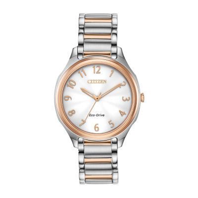 Drive from Citizen Eco-Drive Womens Two Tone Bracelet Watch-Em0756-53a