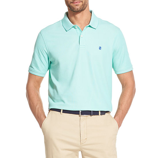 IZOD Advantage Mens Short Sleeve Polo Shirt