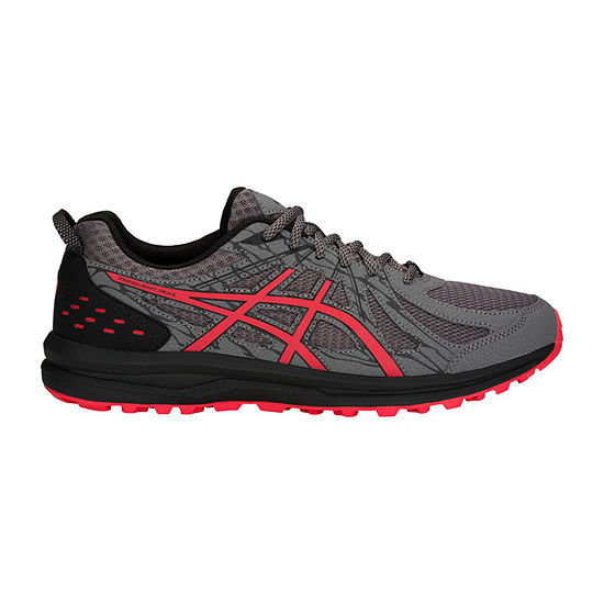 Asics Frequent Trail Wide Mens Lace-up Running Shoes Wide Width