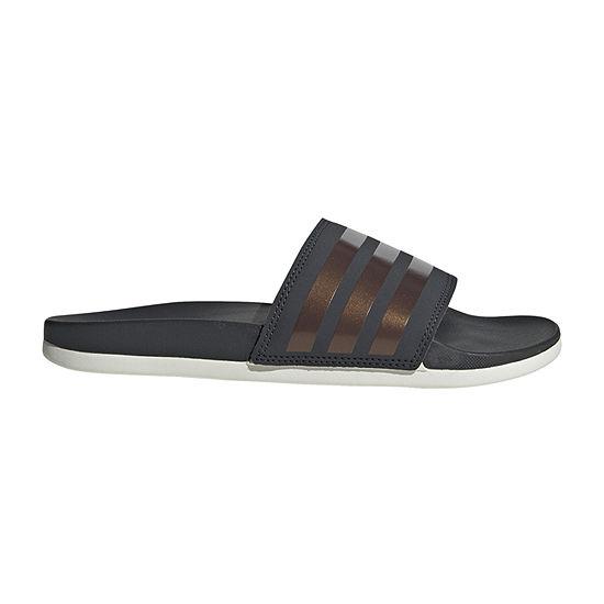 finest selection 5f68b 6cc25 adidas Cloudfoam Adilette Sandal Womens Slide Sandals JCPenney