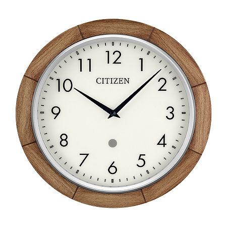 Citizen Cream Wall Clock-Cc5011, One Size