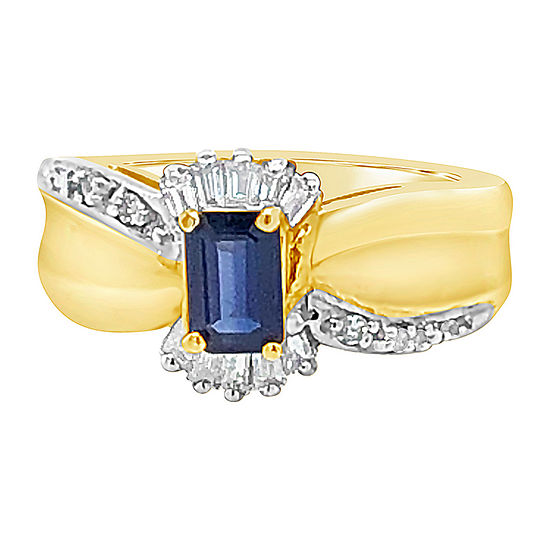 Le Vian Grand Sample Sale™ Ring featuring Blueberry Sapphire™ set in 14K Honey Gold™